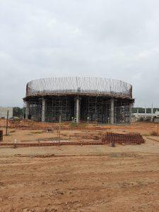 Construção da Estrutura