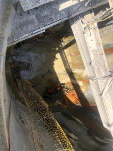 PV 238 terminando limpeza para iniciar transformação